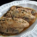 Pressure Cooker Chicken and Mushrooms