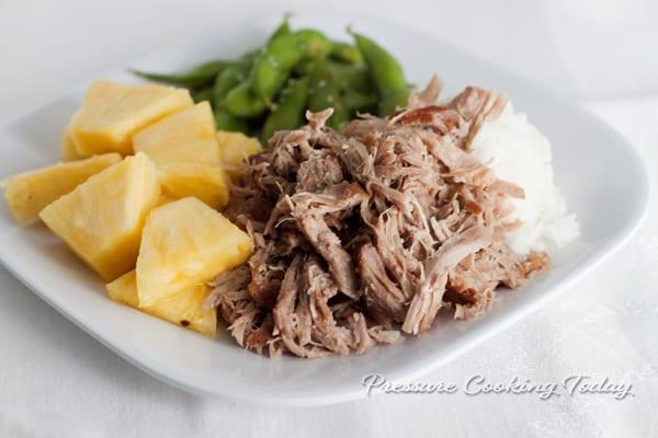Pressure Cooker Kalua Pork