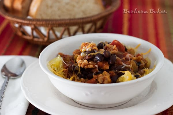 Quick Black Bean and Chicken Sausage Chili Recipe | Pressure Cooking ...