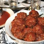 Pressure Cooker  Porcupine Meatballs and Orange Gravy