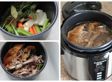Pressure Cooker (Instant Pot) Turkey Stock