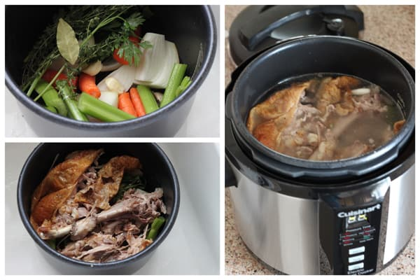 Turkey Stock Pressure Cooking Today