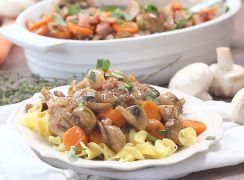 Pressure Cooker Coq au Vin Recipe   Can be made in an InstaPot or any brand of electric pressure cooker