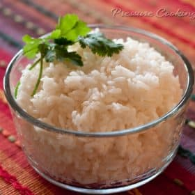 how to cook basmati rice without sticking in pressure cooker