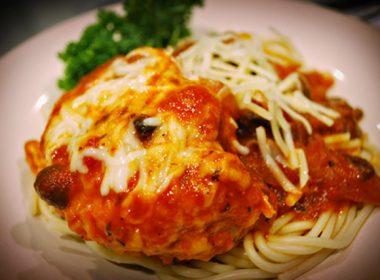 Pressure Cooker (Instant Pot) Chicken Parmigiana Italia