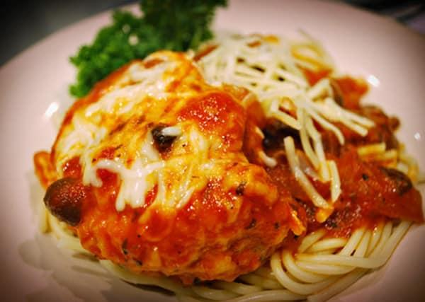 Pressure Cooker Chicken Parmigiana Italia