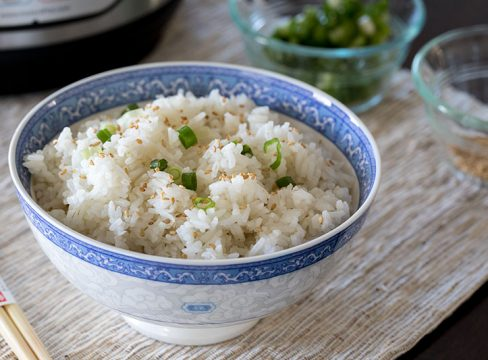 Pressure Cooker (Instant Pot) White Rice