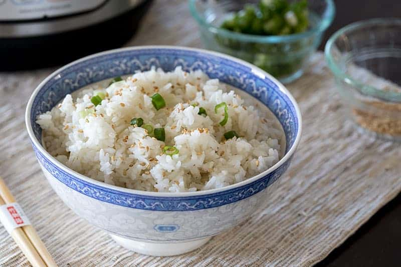 Pressure Cooker White Rice is fast and easy!