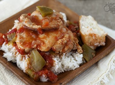 Simple Pressure Cooker (Instant Pot) Chicken Cacciatore