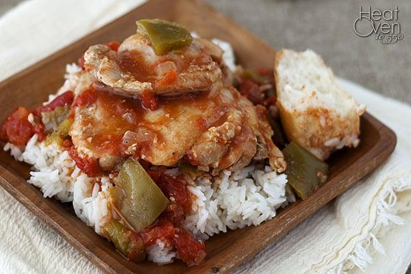 Chicken cacciatore easy recipes