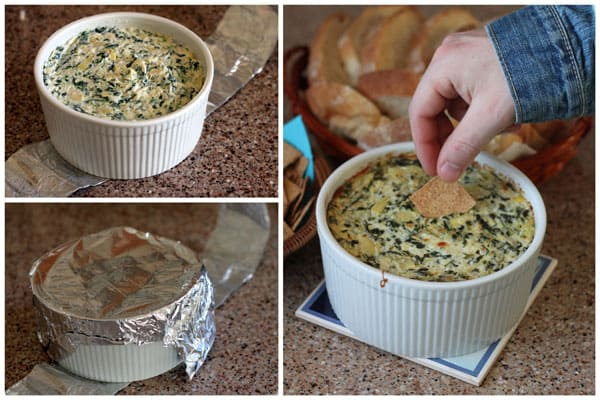 How to make Spinach Artichoke Dip in your Pressure Cooker / Instant Pot