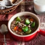 Quick Pressure Cooker Black-Eyed Pea Soup