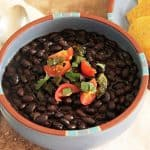 Cooking up a Pot of Pressure Cooker Black Beans