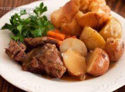 Classic Pressure Cooker (Instant Pot) Pot Roast and Potatoes