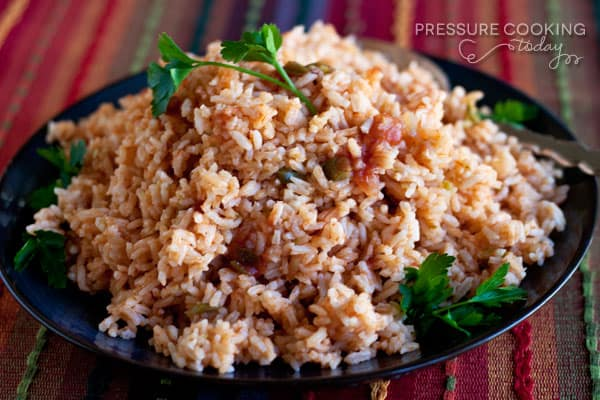 Quick and Easy Pressure Cooker Spanish Rice