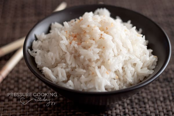 Perfectly Cooked Coconut Jasmine Rice Without A Rice ...