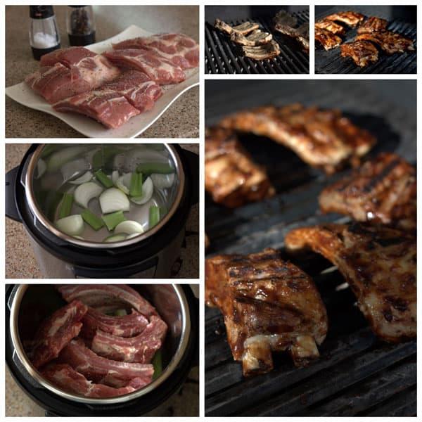 Make Ahead Pressure Cooker BBQ Baby Back Ribs