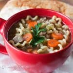 Pressure Cooker Turkey Noodle Soup