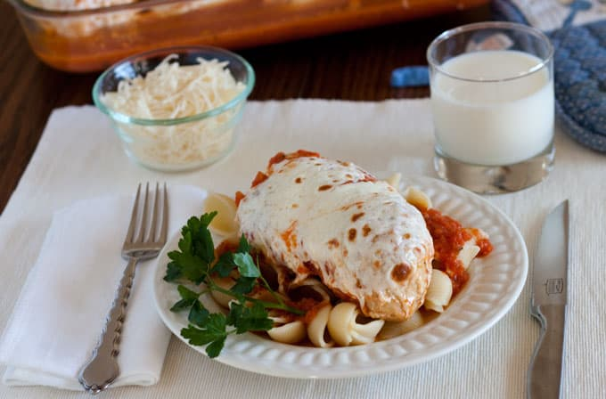 Marinara Chicken with Melted Mozzarella