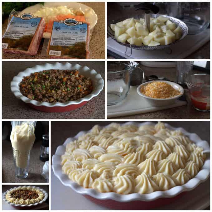 Making Shepherd's Pie in the Pressure Cooker