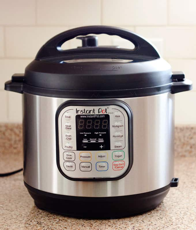 The Instant Pot IP-Duo electric pressure cooker - watch the video to see how easy it is to use.