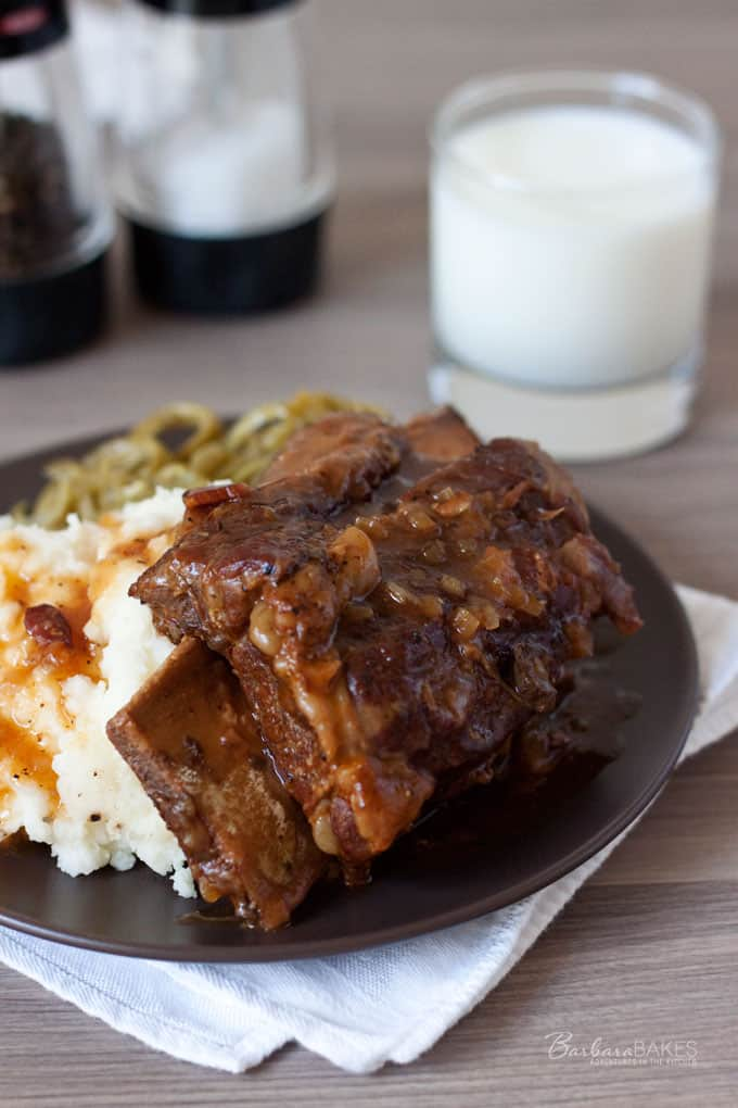 Luscious Bone-In Beef Short Ribs in the Pressure Cooker
