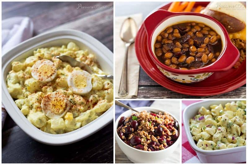 Instant Pot BEST Favorite Summer Side Dishes - Easy Pressure Cooker Potato Salad, Baked Beans, and Macaroni Salad