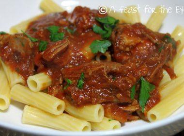 Pressure Cooker (Instant Pot) Pork Ragu Pasta Sauce