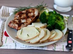 4-Minute Pressure Cooker (Instant Pot) Rosemary Garlic Potatoes