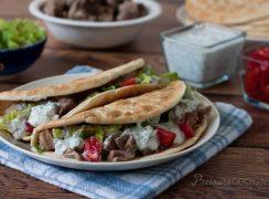 Pressure Cooker (Instant Pot) Greek Tacos