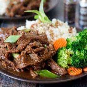Pressure Cooker (Instant Pot) Mongolian Beef Recipe