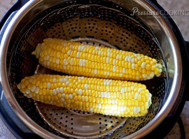 Pressure Cooker (Instant Pot) Corn on the Cob