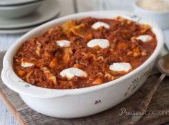 Pressure Cooker (Instant Pot) Sloppy Lasagna Recipe