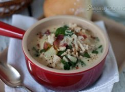 Pressure Cooker (Instant Pot) Zuppa Toscana