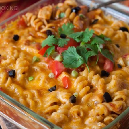 Chicken-Enchilada-Pasta-Pressure-Cooking-Today