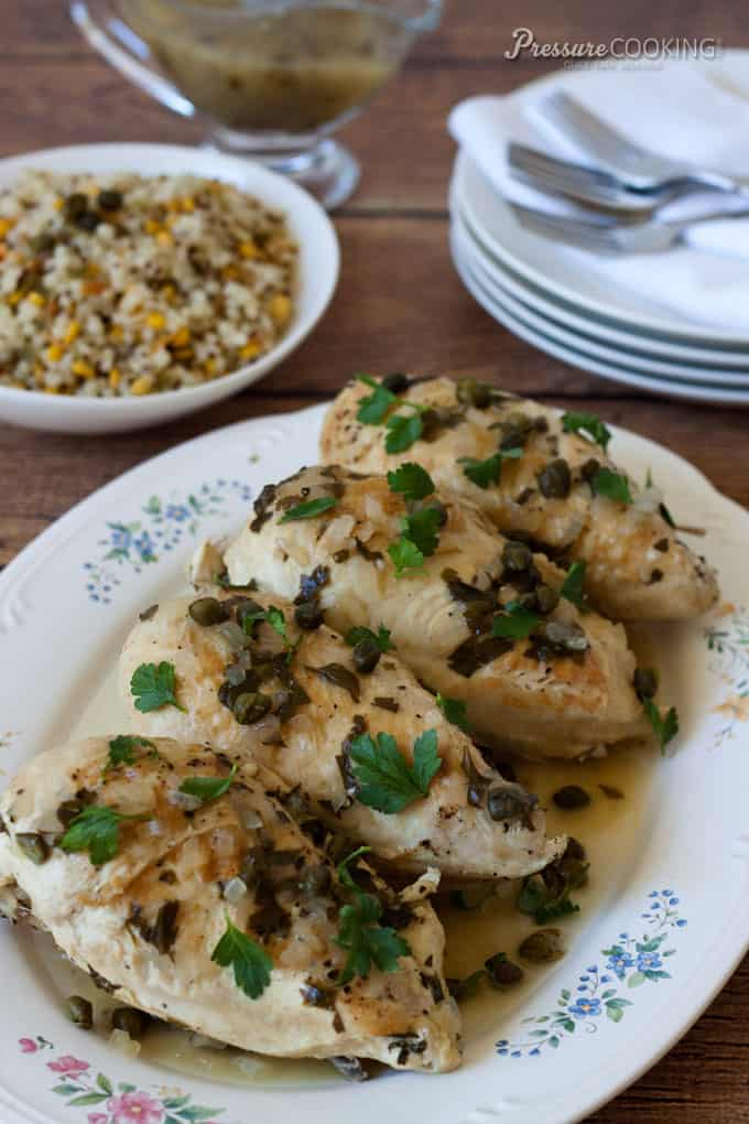 with lemon capers fennel dusted chicken with brown butter and capers ...