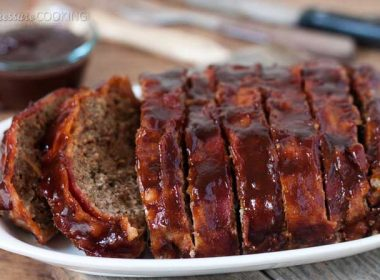 Pressure Cooker (Instant Pot) BBQ Bacon Meatloaf