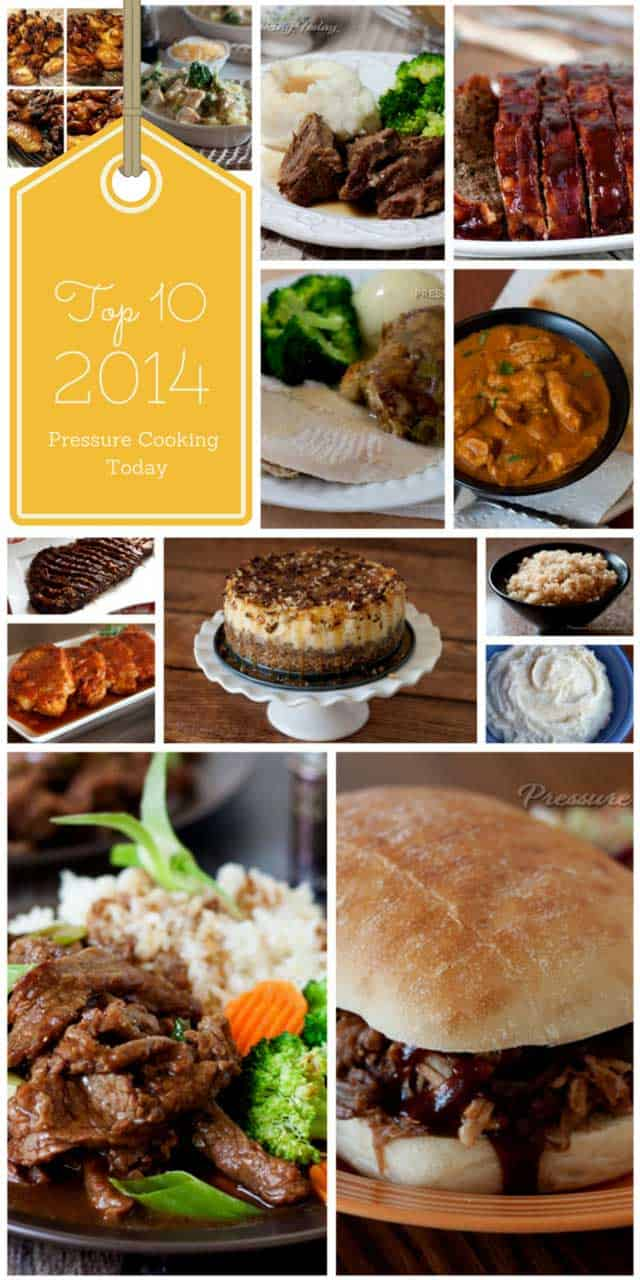 Top 10 Pressure Cooker Recipes of 2014 from Pressure Cooking Today