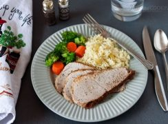 Pork Sirloin Tip Roast in the Pressure Cooker (Instant Pot)
