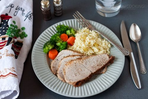 Pork Sirloin Tip Roast in the Pressure Cooker (Instant Pot)