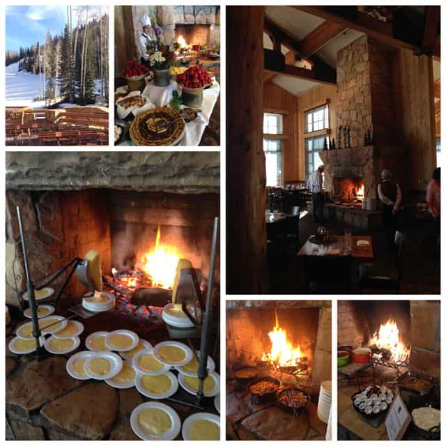 Deer Valley's Fireside Dining at the Empire Canyon Lodge in Park City, Utah