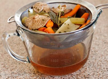 Pressure Cooker (Instant Pot) Shiitake Mushroom Stock