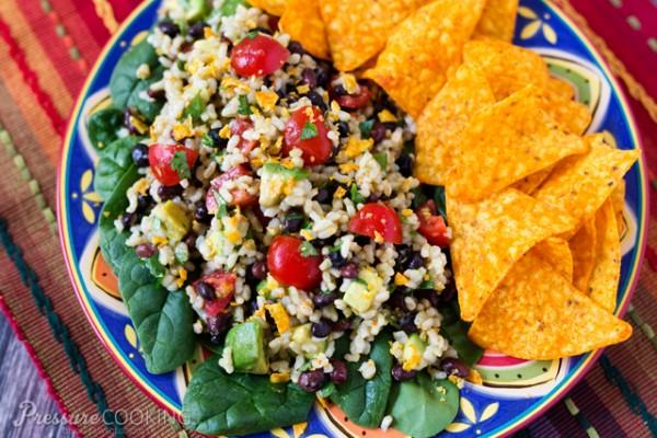 Spicy-Brown-Rice-Black-Bean-Salad-Pressure-Cooking-Today
