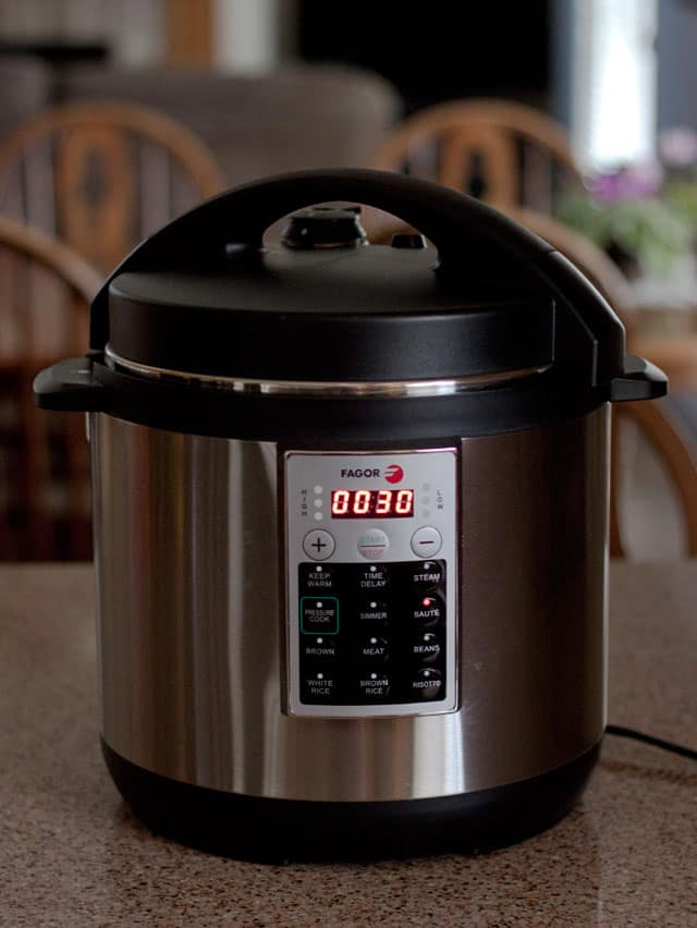 New Electric Pressure Cookers ~ Fagor america premium electric pressure cooker