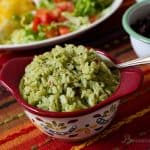 Pressure Cooker Mexican Green Rice