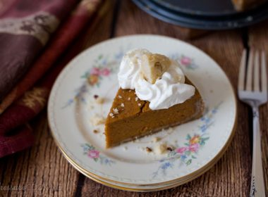 Pressure Cooker (Instant Pot) Pumpkin Pie