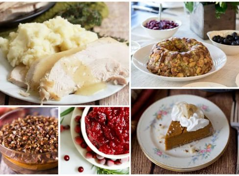 Pressure Cooker Thanksgiving Recipes Roundup