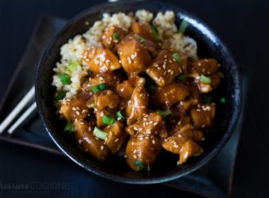 Pressure Cooker (Instant Pot) Honey Sesame Chicken