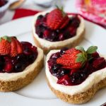Pressure Cooker Heart Shaped Cheesecake