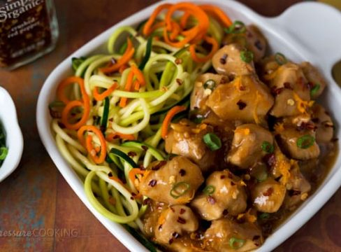 Pressure Cooker (Instant Pot) Orange Chicken